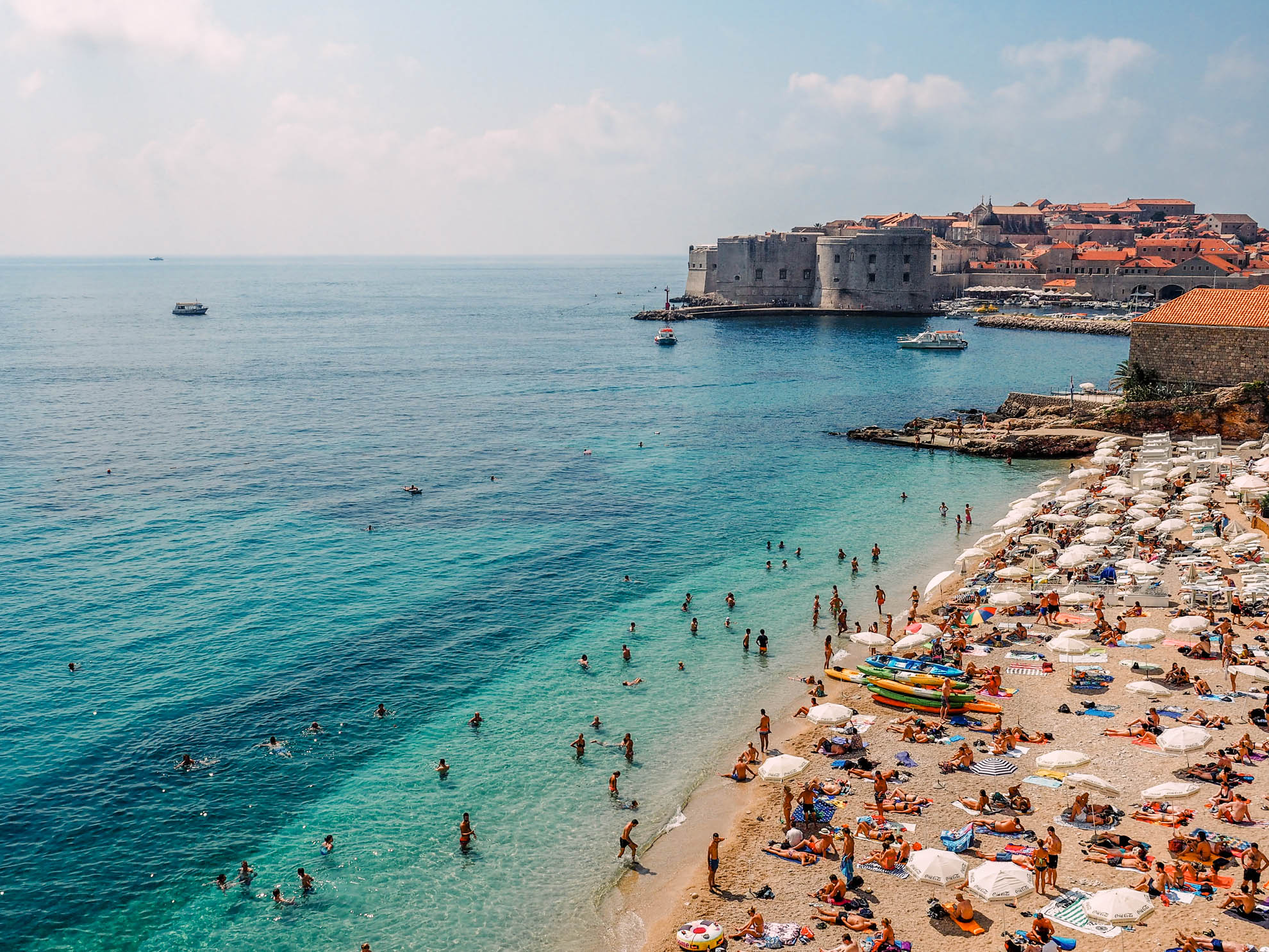 A Guide To Beaches In Dubrovnik Beach Hotels Map And More